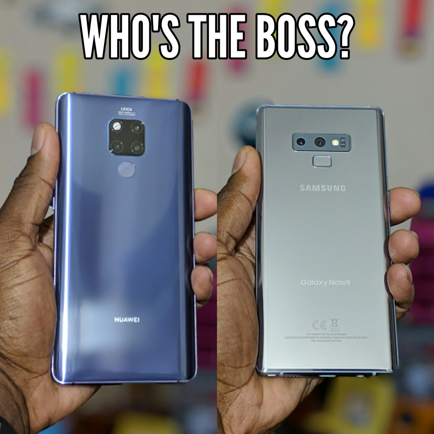 Huawei Mate 20 X VS Samsung Galaxy Note 9 | Who's the Boss